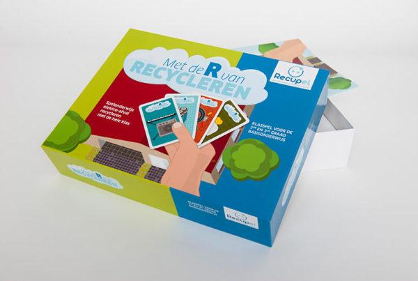 Educatief spel recycleren communicatiebureau Link Inc